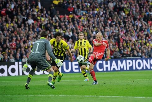 Robben shoots